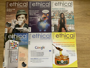 Ethical Consumer Magazines x 6 . Jan 2014 To Dec 2014.