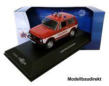 Lada Niva VAZ 2121 pompiers Année de construction 1981 1:43 Ixo/est ccc049 Cars & Co NOUVEAU & NEUF dans sa boîte