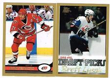 1999 2000 99/00 TOPPS...TEAM SET...CAROLINA HURRICANES...10 CARDS...FRANCIS ETC