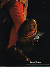 PUBLICITE ADVERTISING  1972   PUNTO BLANCO  chaussettes