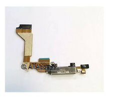 New White Dock Connector Charging Port Flex Cable For Apple iPhone 4 GSM