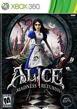Alice: Madness Returns (Microsoft Xbox 360/Xbox One compatible) In Box