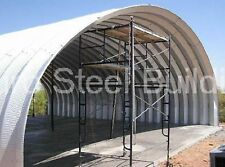 DuroSPAN Steel 42x72x17 Metal Quonset Shed Clear Span Barn Building Kit DiRECT