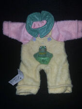 Craft Doll Clothes VIntage 80's Felt Embroiderd Wangs International Inc Collecta