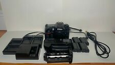 Nikon D7200 24.2 MP Digital SLR Camera Body With 4 Batteries, Chargers, Grip