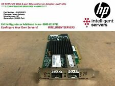 HP NC552SFP 10 GB 2-PORT ETHERNET SERVER ADAPTER a basso profilo - 614203-B21