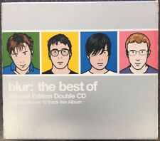 The Best of Blur by Blur (CD, Oct-2000, 2 Discs, Virgin) bonus 10 track live CD