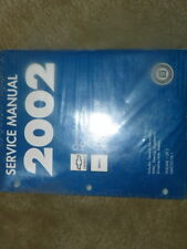 2002 Chevy 3500 GMC 3500 HD Cab Chassis Shop Service Repair Manuals Set Sealed