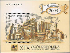 Polska Poland 2003 Fi BLOK 147 B Mi BLOCK 157 A MNH XIX Ogólnopolska Wystawa Fil