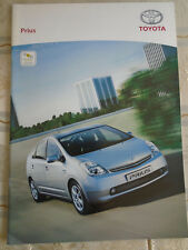 Toyota Prius range brochure Mar 2006 French text