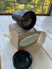 Projector lens Lomo (16КПА-1,2 / 50) PO-109-1A 1.2/50mm USSR Projector LENS