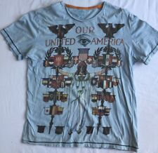 Size XL NEXT Cotton T Shirt America Motif - Uber Cool
