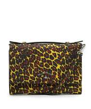 VIVIENNE WESTWOOD  Leopard Print Cross Body Bag / iPhone Wallet