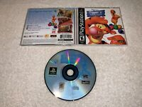 Tigger's Honey Hunt (Sony PlayStation 1, 2000) PS1 Black Label Complete Exc!