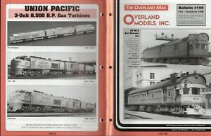 catalogo - Rivista OVERLAND MODELS MAIL Bulletin 122 1998  bb
