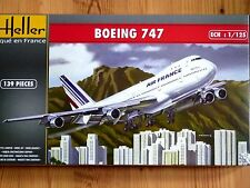 Heller 1:125 Boeing 747 Air France Aircraft Kit Modélisme