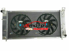 "34"" Alu Radiator + Fan For Chevy Silverado Cadillac GMC YUKON 1500 4.8-6.2 V8"