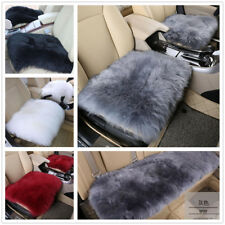 Real Australia Sheepskin Long Wool Front & Rear Car Seat Covers Universal Fit
