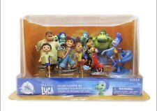 NEW 2021 Disney Pixar's Luca DELUXE 9 Piece Figurine Play Set Disney Store