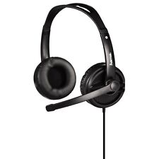 "Hama ""HS-425"" PC Gaming Stereo Headset Headphones in Black  (UK Stock) BNIB"