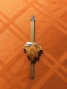 Cuckoo Clock Parts- Vintage Small Grape Leaf Pendulum (05) Top Quality- Germany