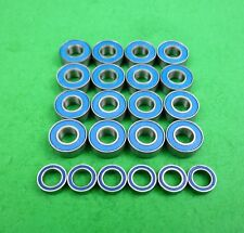 Blue ball bearing set for Tamiya TA01 cars and DF01 buggies Top Force, Manta Ray