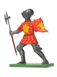 William Britain Metal Knight Toy Soldier 'Sir Gilbert Umfraville' #41083 2005