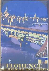 Florence (Old Rail Ad.) Fridge Magnet