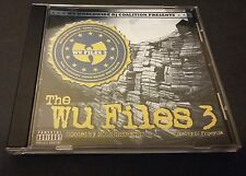 Wu-Files 3 Mixtape Hosted by The Moon Crickets (CD) Wu-Tang Family