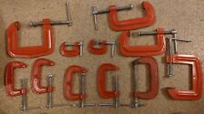 Various One Hand Clamps. Steel.