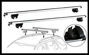 2x NEW CROSS BAR ROOF RACK For Toyota Rav4 2014 - 2018 goes over roof rails