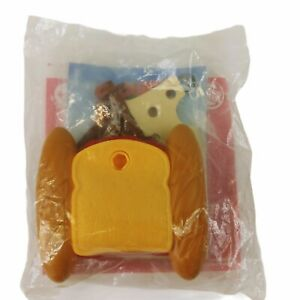 Burger King Cloudy With a Chance of Meatballs 2009 Driftin Toast Boat Toy Sealed