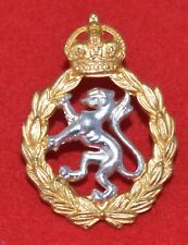 British Army. Women's Royal Army Corps Genuine Officer's Cap Badge