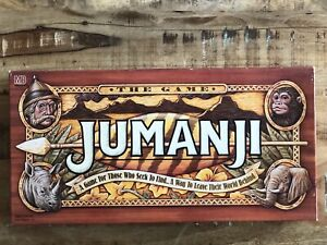 VINTAGE 1995 JUMANJI BOARD GAME-100% COMPLETE-SELDOM PLAYED CONDITION!