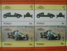 1953 COOPER 500 Formula 3 Car 50-Stamp Sheet / Auto 100 Leaders of the World
