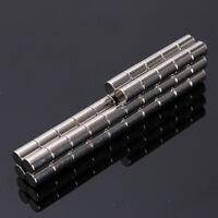 50Pcs 4x6mm N52 Super Stark Zylinder Blöcke Seltene Erden Neodym