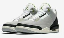 Mens Air Jordan 3 Retro 136064-006 LT Smoke Grey/Chlorophyll NEW Size 10.5