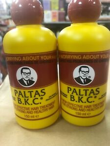 2 X Paltas B.K.C Hair Treatment 150ml Each. Hair Growth Oil BUY DIRECT WHOLESALE