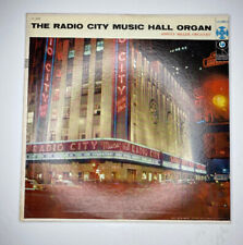 A The Radio City Music Hall Organ Ashley Miller Vinyl Columbia CL945