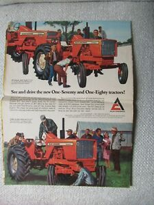 Allis-Chalmers 170 180 190XT tractor gleaner combine print ad brochure