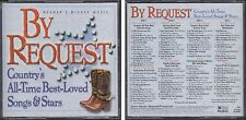 By Request COUNTRY'S ALL TIME BEST LOVED SONGS & STARS Reader's Digest 4 CD Set