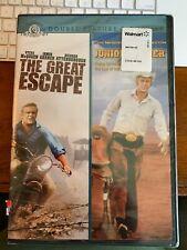 The Great Escape & Junior Bonner (Dvd) Steve McQueen Double Feature New