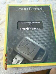 John Deere 7H17 operators manual
