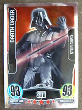 Force Attax Star Wars 1 (2012, blau), Darth Vader (204) Star Card
