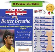5 -100 BETTER BREATH NASAL STRIPS RIGHT EASY STOP ANTI SNORING UK BREATHE