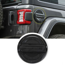 Door Fuel Tank Decor Cover Gas Cap Trims For Jeep Wrangler Jl 2018+ Accessories