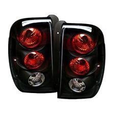 Pair Black Euro Style Altezza Tail Lights Lamps Chevy Trailblazer 02-09 1 Yr War
