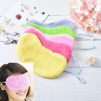 soft cotton travel sleeping blindfold shade eye mask cover moisturizing*k QA