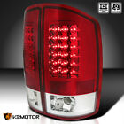 For 2002-2006 Dodge Ram 1500 2500 3500 Led Rear Tail Lights Lamps Red Leftright