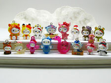 16 Hello Kitty Charm Pendant Figurine *16 pieces* Cute Gifts (11q-16) Wholesale